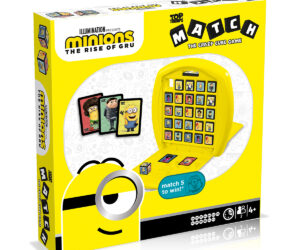 Winning Moves brings you a brand new Minions Top Trumps Match in line with the upcoming film. Perfect for kids and play on the go.