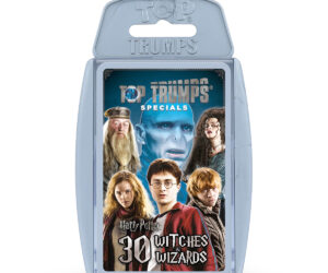 Harry Potter Greatest Witches and Wizards Top Trumps