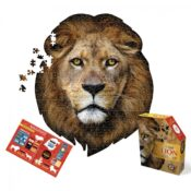 Puzzle size 63 x 76 cm Box dims 24 x 28 x 7.4 cm Contains a colourful insert with fun facts and puzzle image reference 550 piece special die-cut shaped puzzle Age 10 +