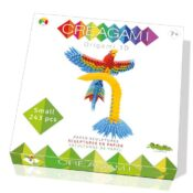 Creagami is an amazing kit system for creating modular origami. Each kit includes sheets of various colours, each with 24-pre-cut cards and with folding guides so you can make the modules to build your 3D sculptures.  Age 7+