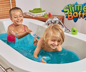 Just add water to turn your bath water into gooey Slime! 100% Safe and certified biodegradable. Available in a range of exciting colours and effects and is the perfect product for messy and multi-sensory play!