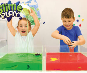 Just add water to create your very own bowl of gooey slime. Available in a range of colours and effects, Slime Play is perfect for messy & multi- sensory play! 100% Safe and certified biodegradable.